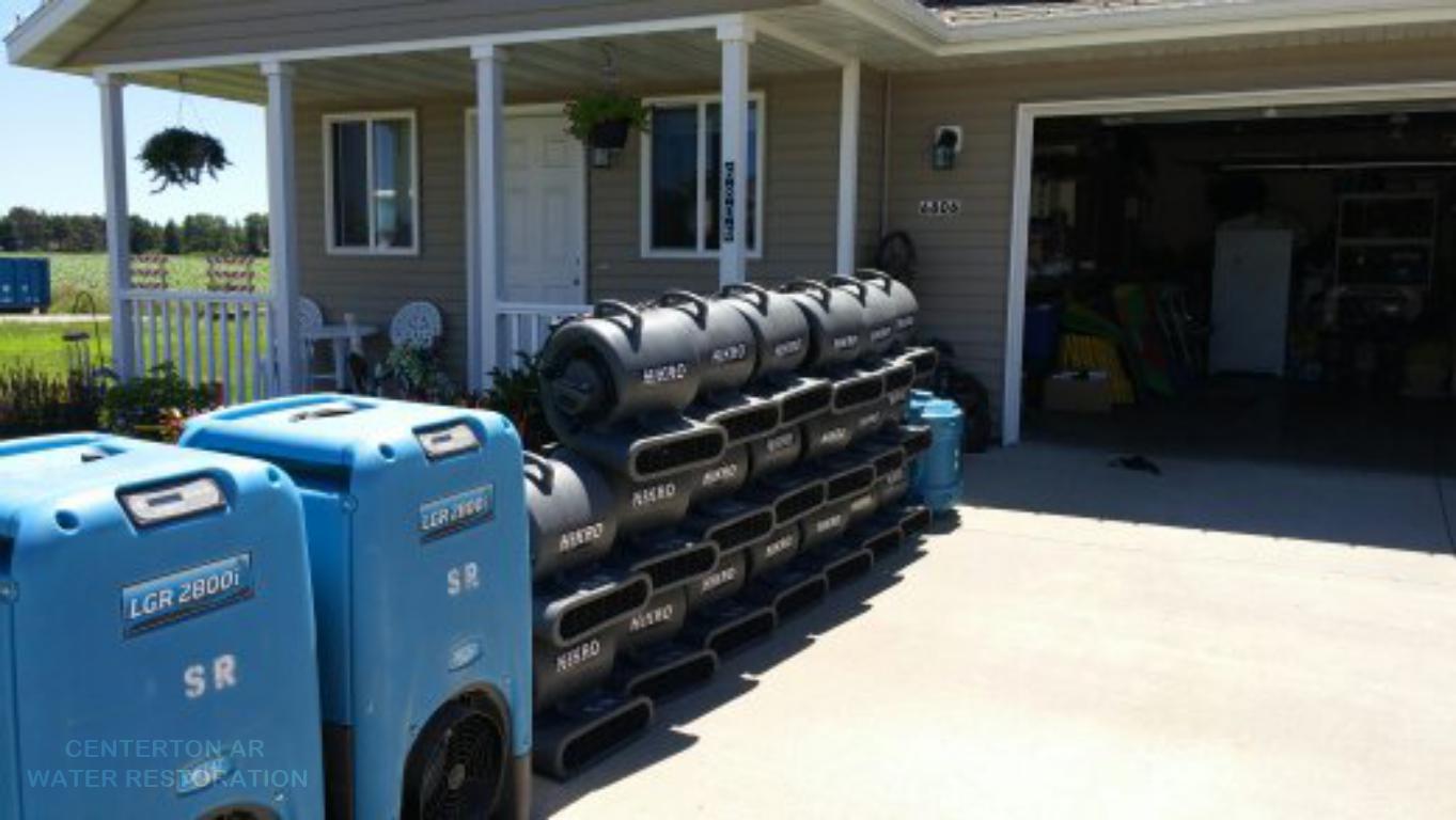 CENTERTON AR WATER RESTORATION